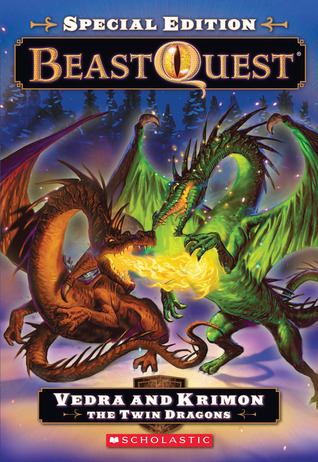 Vedra and Krimon the Twin Dragons (Beast Quest Special Edition, #2)  by  Adam Blade