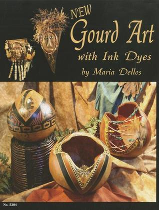 Gourd Art With Ink Dyes  by  Maria Dellos