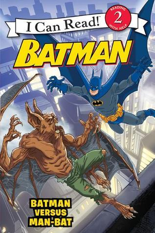 Batman versus Man-Bat  by  J.E. Bright