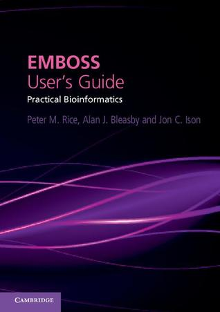 Practical Bioinformatics With Emboss Lisa Mullan