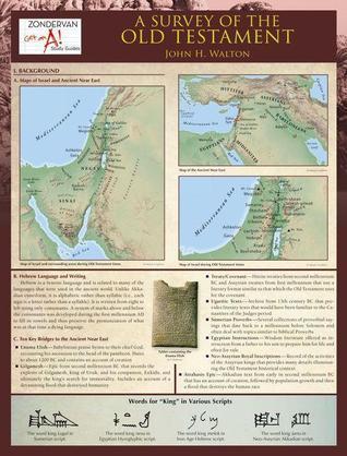 A Survey of the Old Testament Laminated Sheet  by  John H. Walton