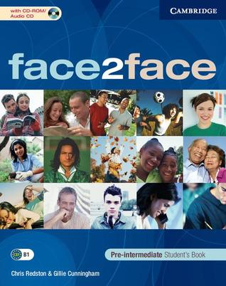 face2face Pre-intermediate Students Book with CD-ROM/Audio CD  by  Chris Redston