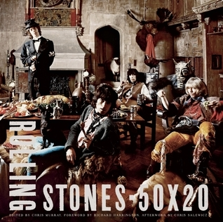 Rolling Stones 50 x 20  by  Chris  Murray