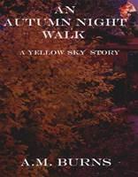 An Autumn Night Walk  by  A.M. Burns