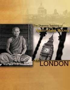 Ācariya Mahā Boowa in London Ajaan Maha Boowa Nanasampanno