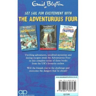 Shipwrecked! / Stranded! / Trapped! (The Adventurous Four, #1-3) Enid Blyton