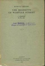 The Barretts of Wimpole Street  by  Rudolf Besier