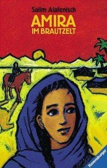 Amira im Brautzelt  by  Salim Alafenisch