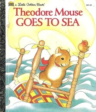 Theodore Mouse at Sea  by  Michaela Muntean