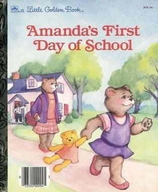 Amandas First Day of School  by  Joan Elizabeth Goodman