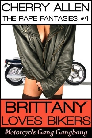 Brittany Loves Bikers, Motorcycle Gang Gangbang Cherry Allen