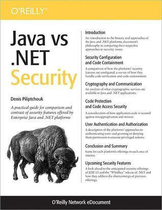 Java VS .Net Security  by  Denis Pilipchuk