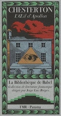 Lœil dApollon  by  G.K. Chesterton