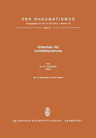 Ursachen Fur Lumbalsyndrome  by  H. Tilscher