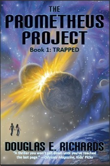 Trapped (The Prometheus Project, #1) Douglas E. Richards