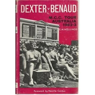Dexter v Benaud, M.C.C. Tour Australia 1962-3 E.M. Wellings
