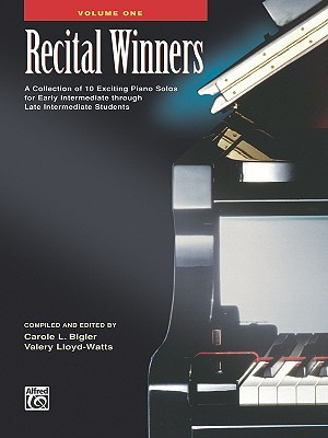 Recital Winners, Book 1, Alfred Masterwork Edition Valery Lloyd-Watts