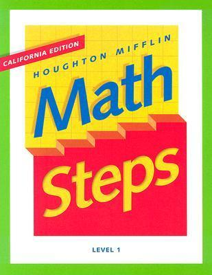Mathsteps, California Edition: Level 1  by  Rosemary Theresa Barry