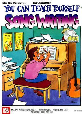 Mel Bays You Can Teach Yourself Song Writing Book/CD set Larry McCabe
