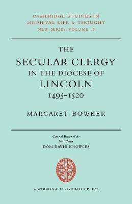Secular Clergy Diocese Lincoln Margaret Bowker