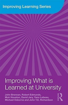 Improving What Is Learned at University: An Exploration of the Social and Organisational Diversity of University Education Brennan John