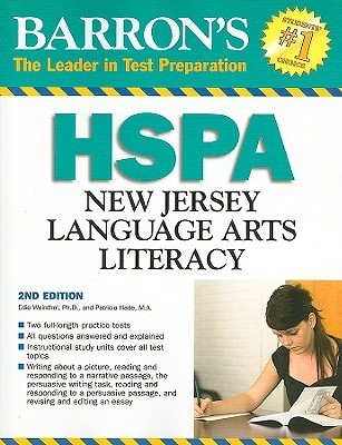 Barrons HSPA New Jersey Language Arts Literacy Test  by  Edie Weinthal