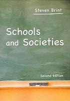 Schools and Societies  by  Steven Brint