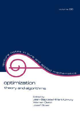 Optimization: Theory and Algorithms Jean-Baptiste Hiriart-Urruty