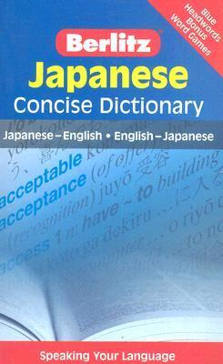 Japanese Concise Dictionary  by  Berlitz Publishing Company