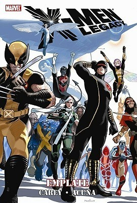 X-Men Legacy: Emplate  by  Mike Carey