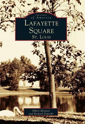 Lafayette Square, St. Louis  by  Albert Montesi
