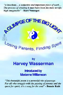 A Glimpse of the Big Light: Losing Parents, Finding Spirit  by  Harvey Franklin Wasserman