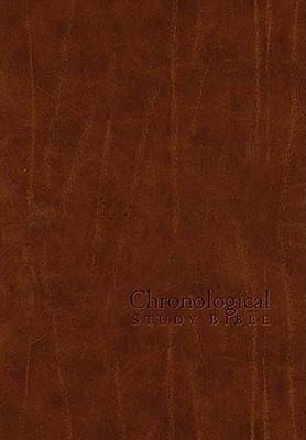 The Chronological Study Bible –New King James Version  by  Anonymous