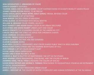 New Geographies, 3: Urbanisms Of Color  by  Gareth Doherty