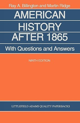 American History After 1865: With Questions and Answers Ray A. Billington