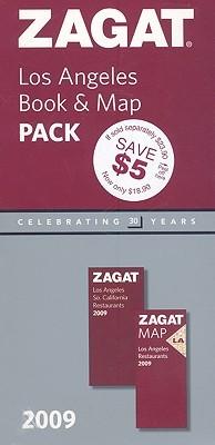 2009 Los Angeles Book & Map Pack Zagat Survey
