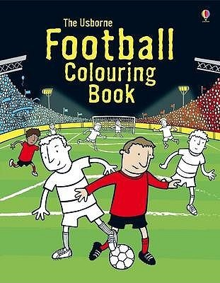 Football Colouring Book (Usborne Colouring Books)  by  Kirsteen Rogers