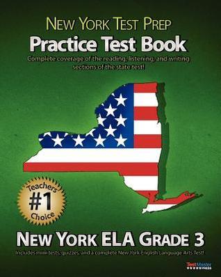 New York Test Prep Common Core Quiz Book Language Grade 3  by  Test Master Press New York