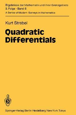 Quadratic Differentials  by  Kurt Strebel