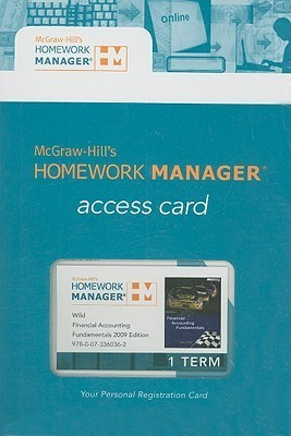 Homework Manager Passcode Card to accompany Financial Accounting Fundamentals  by  John J. Wild