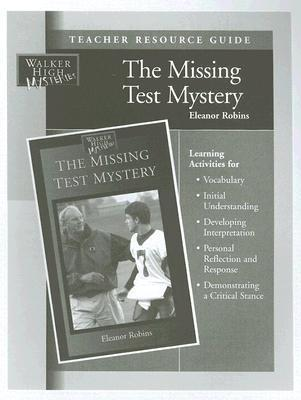 Missing Test Mystery Teacher Resource Guide Eleanor Robins