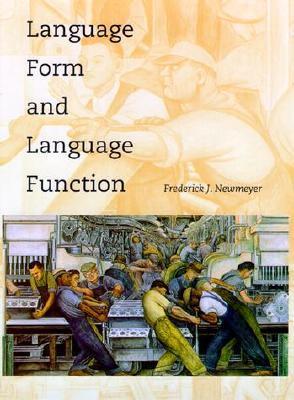 The Politics of Linguistics Frederick J. Newmeyer