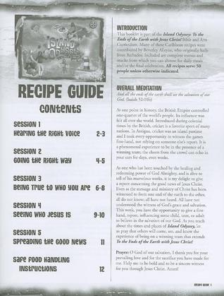 Island Odyssey Recipe Guide  by  Abingdon Press
