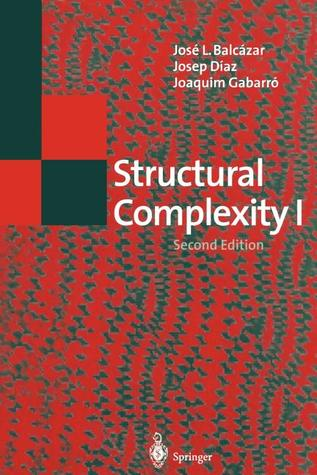 Structural Complexity I José L. Balcázar