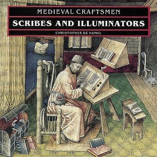 Scribes And Illuminators Christopher De Hamel