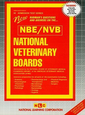 National Veterinary Boards: Nvb  by  National Learning Corporation