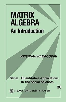 Matrix Algebra: An Introduction  by  Krishnan Namboodiri