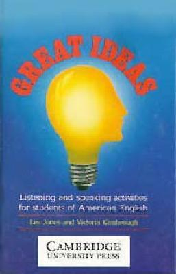 Great Ideas Audio Cassette: Listening and Speaking Activities for Students of American English  by  Leo Jones