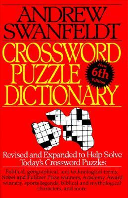 Swanfeldt Crossword Puzzle Dictionary  by  Andrew Swanfeldt