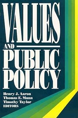 Values And Public Policy  by  Henry J. Aaron